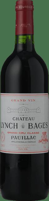 CHATEAU LYNCH-BAGES 5me cru classe, Pauillac 2003