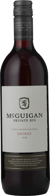 MCGUIGAN WINES Private Bin Shiraz, South Eastern Australia 2019