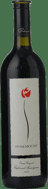 ROSEMOUNT ESTATE Orange Vineyard Cabernet Sauvignon, Orange 1995