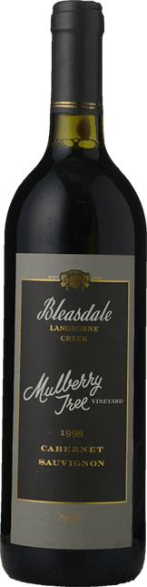 BLEASDALE VINEYARD Mulberry Tree Cabernet Sauvignon, Langhorne Creek 1998