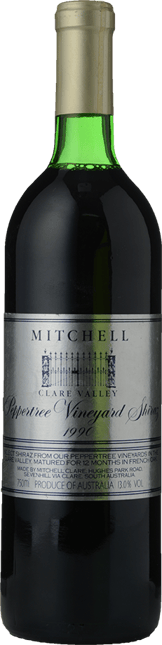 MITCHELL WINERY Peppertree Vineyard Shiraz, Clare Valley 1990