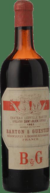 CHATEAU LEOVILLE-BARTON 2me cru classe, St-Julien 1953
