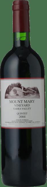 MOUNT MARY Quintet Cabernet Blend, Yarra Valley 2004