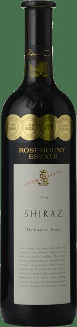 ROSEMOUNT ESTATE Show Reserve Shiraz, McLaren Vale 1996