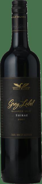 WOLF BLASS WINES Grey Label Shiraz, McLaren Vale 2007