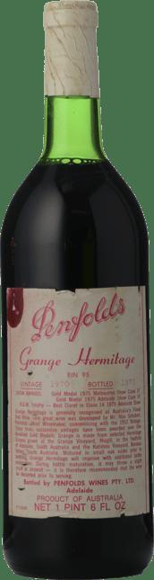 PENFOLDS Bin 95 Grange Shiraz, South Australia 1970
