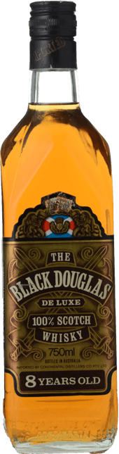 BLACK DOUGLAS 8 Years Old Deluxe Scotch Whisky , Scotland NV