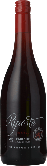 RIPOSTE BY TIM KNAPPSTEIN Reserve Pinot Noir, Adelaide Hills 2018