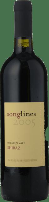 SONGLINES ESTATE Songlines Shiraz, McLaren Vale 2005