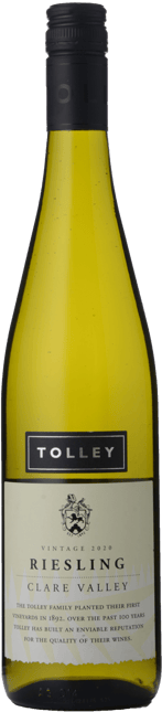 TOLLEY'S Riesling, Clare Valley 2020