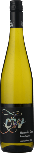 CW WINES Winemaker Series Reserve Pinot Gris, Limestone Coast 2020