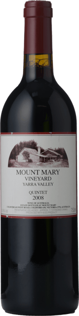 MOUNT MARY Quintet Cabernet Blend, Yarra Valley 2008