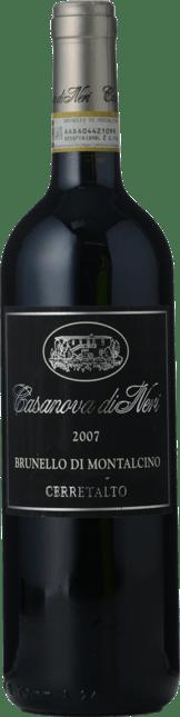 CASANOVA DI NERI Cerretalto, Brunello di Montalcino DOCG 2007