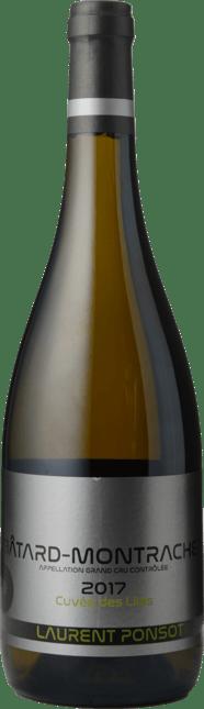 LAURENT PONSOT Grand Cru Cuvée des Lilas , Batard-Montrachet 2017