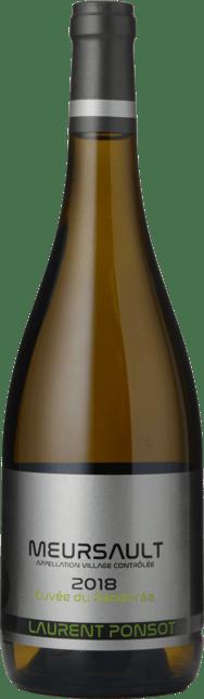 LAURENT PONSOT Cuvée du Pandoréa , Meursault 2018