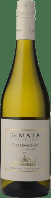 TE MATA ESTATE Estate Vineyard Chardonnay, Hawkes Bay 2019