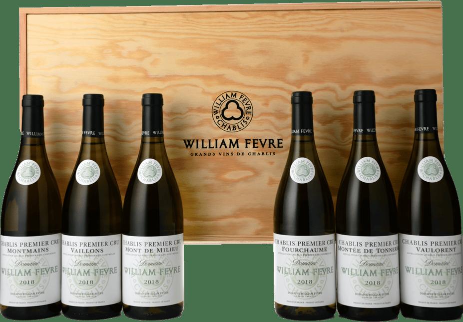 WILLIAM FEVRE A Journey in Chablis Premier Cru Six Pack 2018