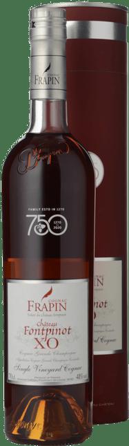 COGNAC FRAPIN Chateau Fontpinot XO Grande Champagne Cognac 41% ABV, Cognac NV