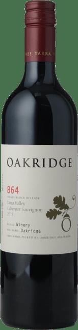 OAKRIDGE WINES 864 Winery Block Cabernet Sauvignon, Yarra Valley 2018
