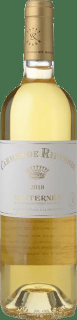 CHATEAU RIEUSSEC Carmes de Rieussec, Sauternes 2018
