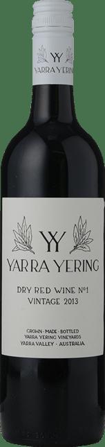 YARRA YERING Dry Red Wine No.1 Cabernets, Yarra Valley 2013