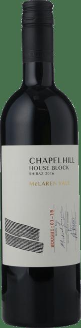 CHAPEL HILL House Block Shiraz, McLaren Vale 2016