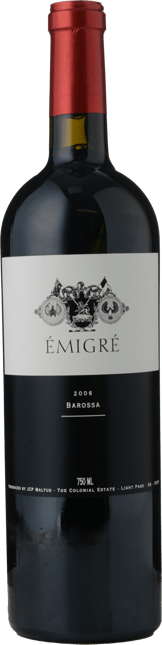 THE COLONIAL ESTATE Emigre Shiraz, Barossa 2006