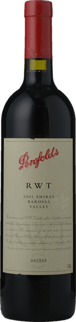 PENFOLDS RWT Shiraz, Barossa Valley 2001