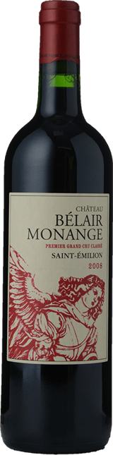 CHATEAU BELAIR-MONANGE 1er grand cru classe (B), St-Emilion 2008