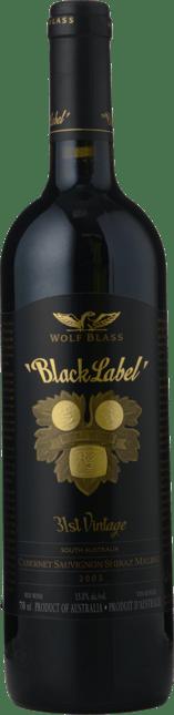 WOLF BLASS WINES Black Label, South Australia 2003