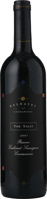 BALNAVES OF COONAWARRA The Tally Reserve Cabernet Sauvignon, Coonawarra 2007