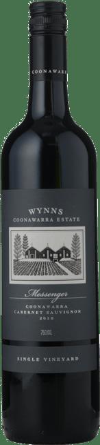 WYNNS COONAWARRA ESTATE Messenger Single Vineyard Cabernet Sauvignon, Coonawarra 2010