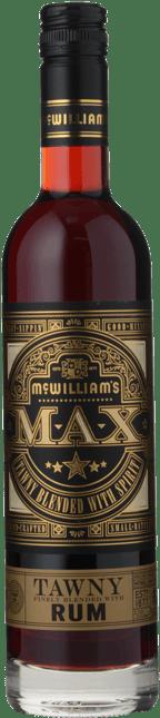 MCWILLIAM'S WINES Max Tawny With Rum Blend, Australia NV