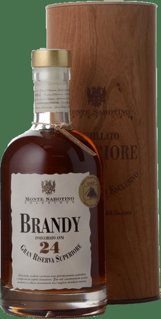 DISTILLERIA ZANIN Monte Sabotino Gran Riserva Superiore Invecchiato 24 Anni 40% ABV Brandy, Italy NV