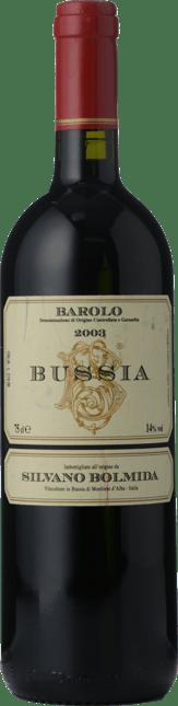 SILVANO BOLMIDA Bussia, Barolo DOCG 2003