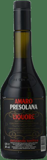 DISTILLERIA ZANIN Amaro Presolana Liquore 28% ABV, Italy NV