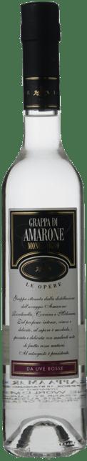 DISTILLERIA ZANIN Le Opere Grappa di Amarone Monovitigno 40% ABV, Italy NV