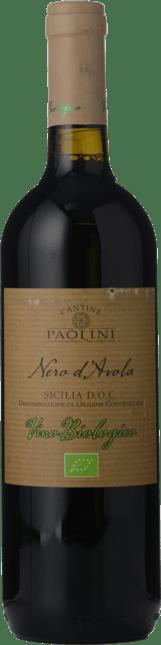 CANTINE PAOLINI Biologico Nero d'Avola, Sicilia DOC 2018