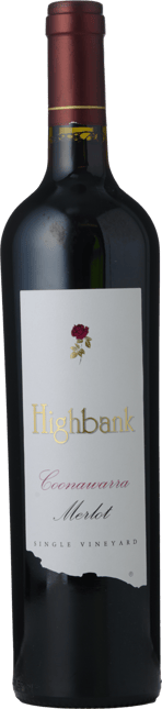 HIGHBANK VINEYARDS Single Vineyard Merlot, Coonawarra 2015