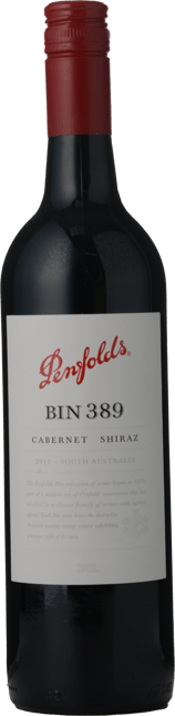 PENFOLDS Bin 389 Cabernet Shiraz, South Australia 2011
