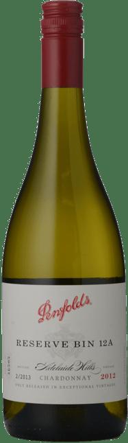 PENFOLDS Reserve Bin 12A Chardonnay, Adelaide Hills 2012
