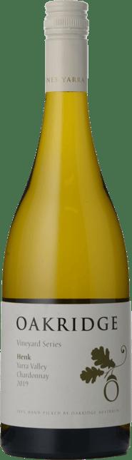 OAKRIDGE WINES Vineyard Series Henk Chardonnay, Yarra Valley 2019