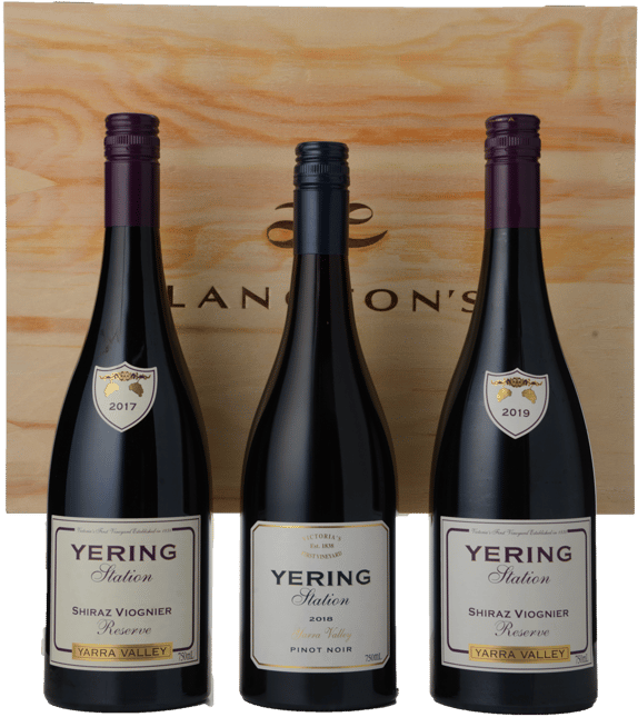 YERING STATION 3 Bottle Vertical Set 2017-2019 Reserve Shiraz Viognier, Yarra Valley MV