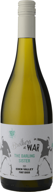 BROTHERS AT WAR The Darling Sister Pinot Grigio, Eden Valley 2021