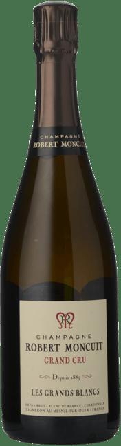 ROBERT MONCUIT Les Grands Blancs, Grand Cru Blanc de Blancs, Champagne NV