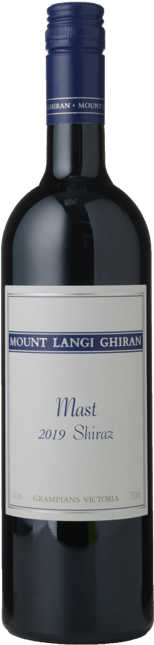 MOUNT LANGI GHIRAN VINEYARDS The Mast Shiraz, Grampians 2019