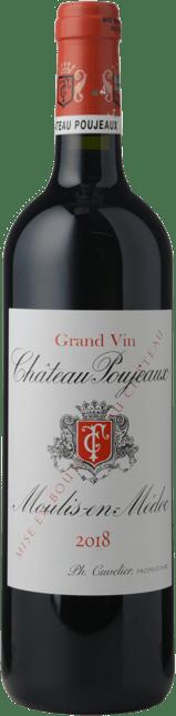 CHATEAU POUJEAUX Grand bourgeois exceptionnel, Moulis 2018