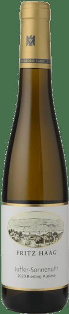 FRITZ HAAG Brauneberg Juffer-Sonnenuhr Goldkapsel Riesling-Auslese, Brauneberg (Juffer) 2020