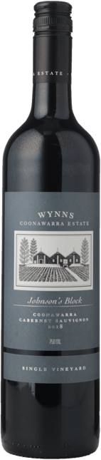 WYNNS COONAWARRA ESTATE Single Vineyard Johnson's Block Cabernet, Coonawarra 2018