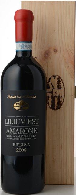 TENUTA SANT ANTONIO Lilium Est Riserva, Amarone della Valpolicella DOCG 2008